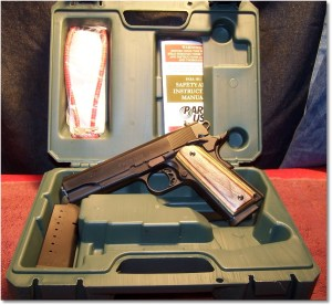 """Para-USA """"Expert"""" 1911 w/Hogue Fancy Grip Panels (No the grip panels do not come with the pistol)"""