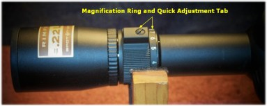 Quick Magnification Adjustments Made Possible With Raised Tab