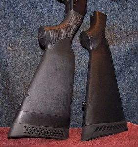 Standard Stock (Left) and Replacement Stock (Right)