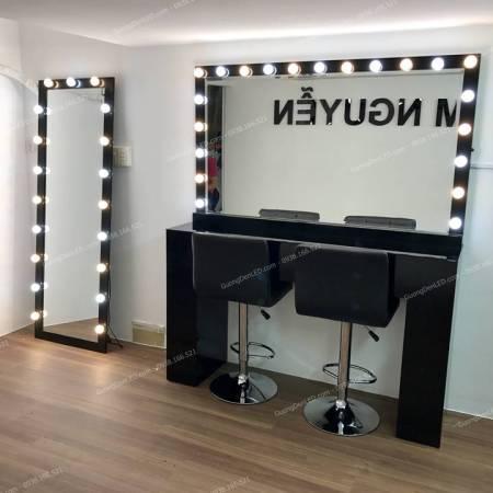 Bàn Trang Điểm Chuyên Nghiệp Makeup Đen
