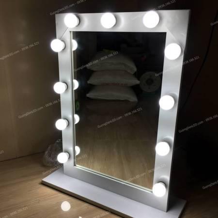 gương trang điểm đèn led nhỏ
