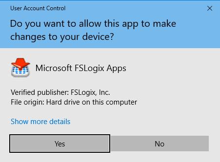 FSLogix User Access Control
