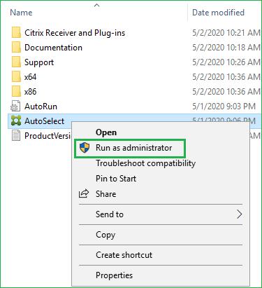 Run AutoSelect as Administrator