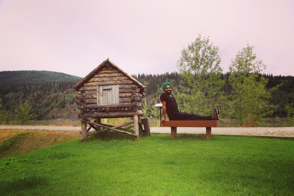 Exploring beautiful Dawson City on the sidelines of our First We Eat passion.