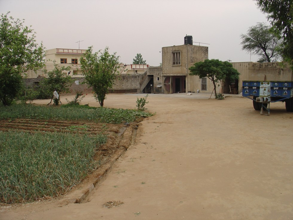 My parents' home in the village Siahar in Punjab where I grew up and started learning about the life and the world.