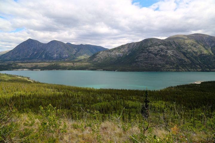 Kusawa Lake Yukon