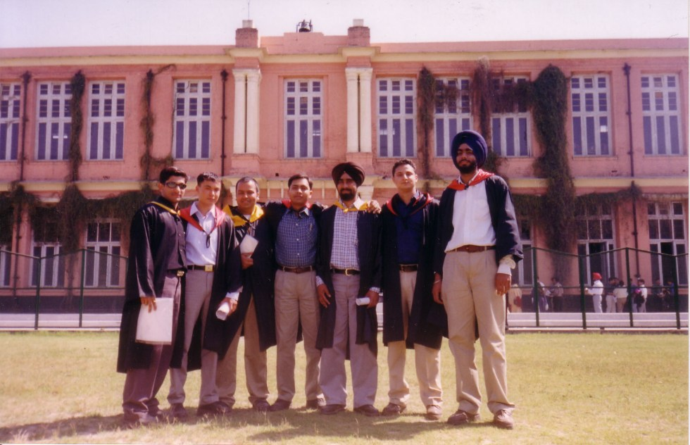 College life at Government College, Ludhiana, Punjab