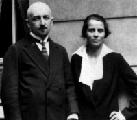 Thomas and Olga de Hartmann, Berlin, 1921