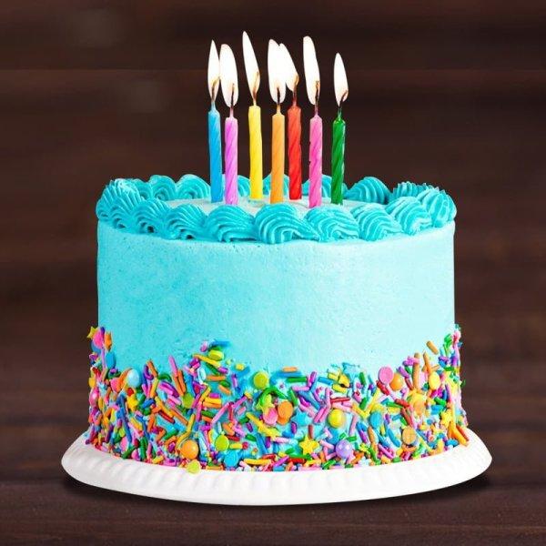 balloon special birthday cake