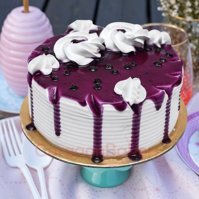 blueberry drizzle cake