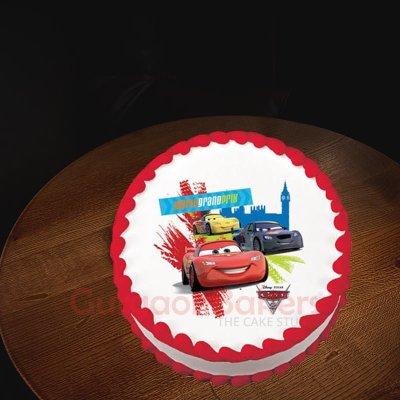 car race cake