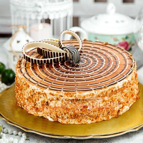 delightful butterscotch cake