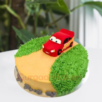 disney cars themed cake