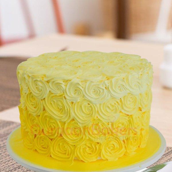 enchanting yellow cake