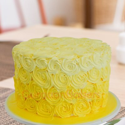 enchanting yellow cake