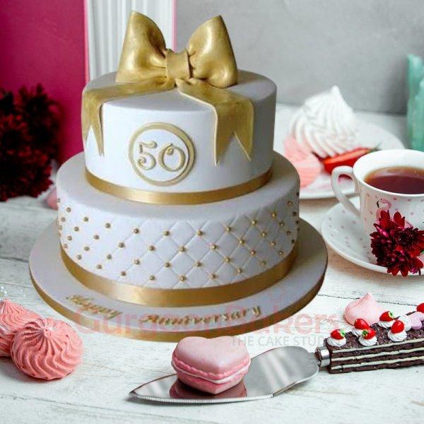 golden jubilee cake
