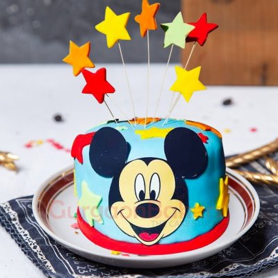 happy mickey cake