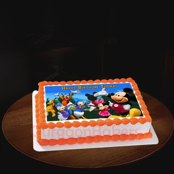 mickey clubhouse birthday cake