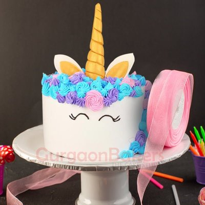 mystical unicorn cake