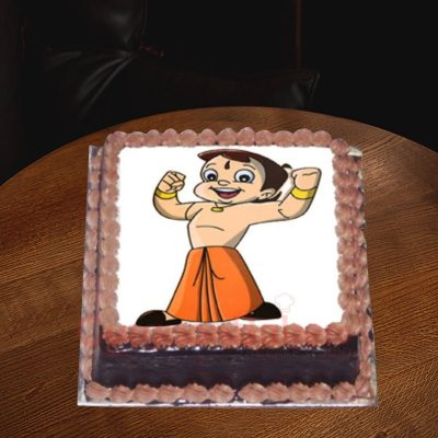 no fondant chhota bheem cake