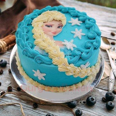 snow queen cake
