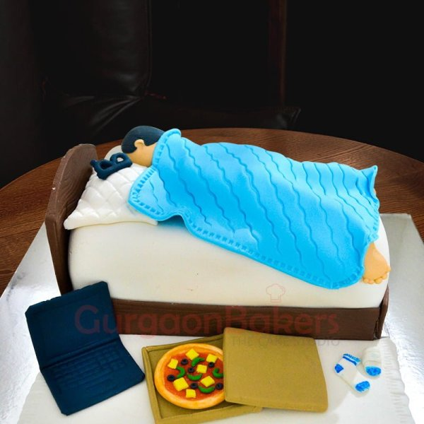 the perfect cake for him