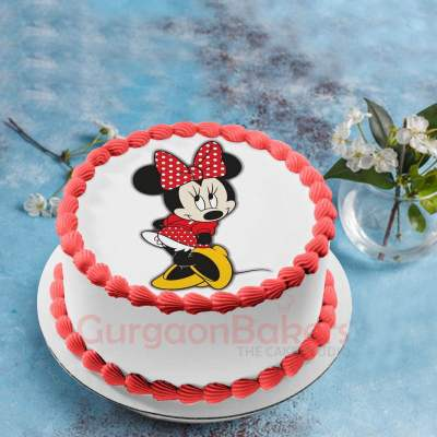 fashionista minnie cake