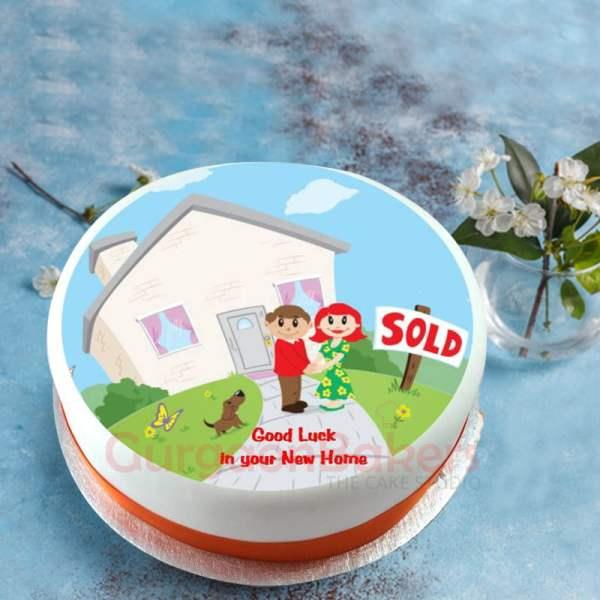 home sweet home cake