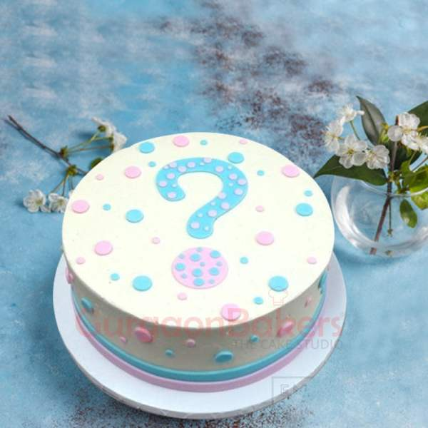 mystery welcome baby cake