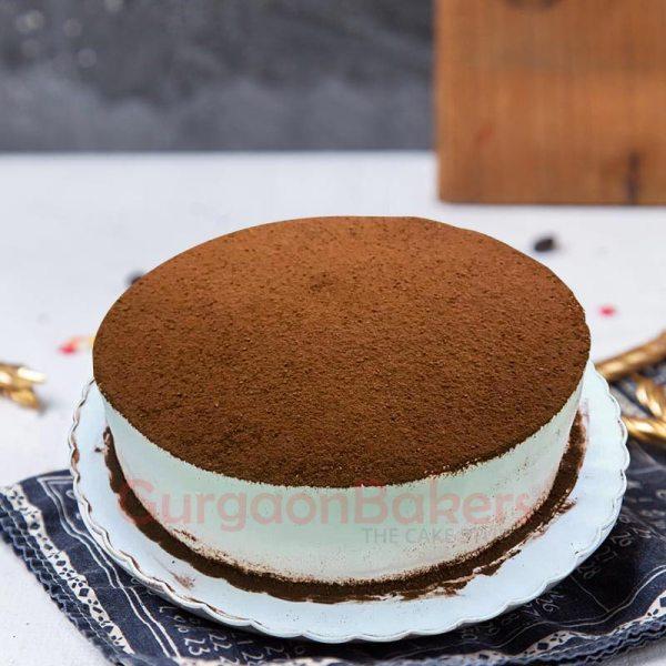 premium tiramisu birthday cake