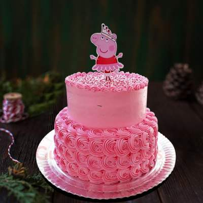 princess peppa cake