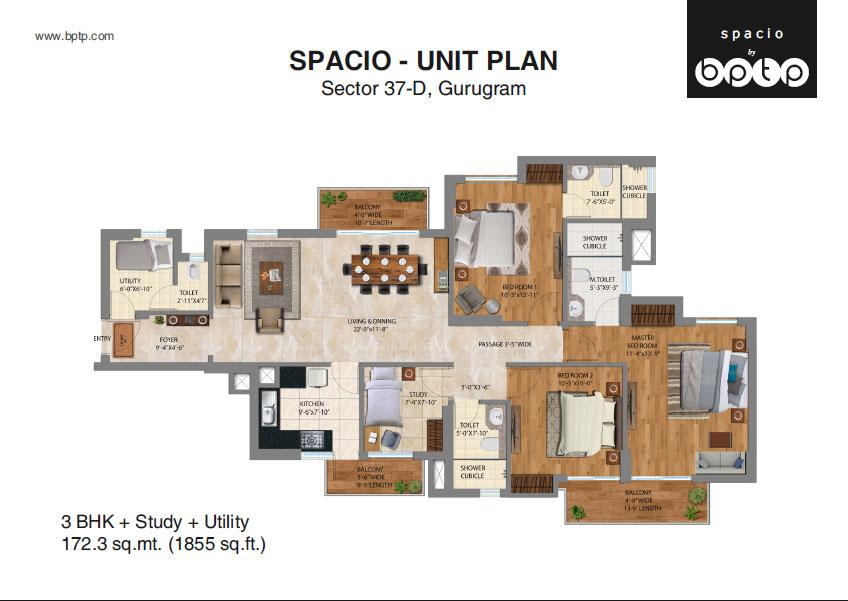BPTP SPACIO, SECTOR-37D, GURGAON