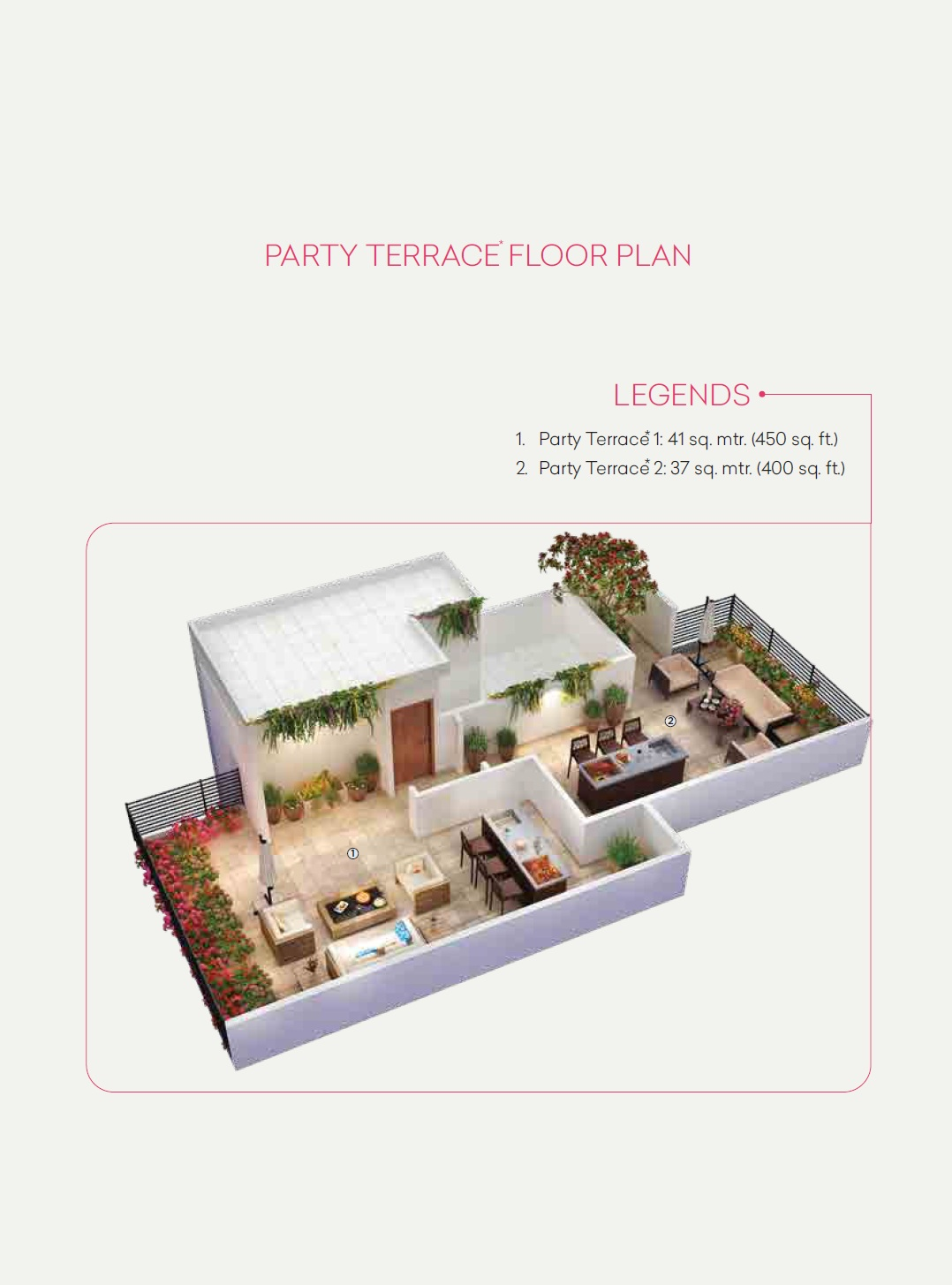 CERISE FLOORS, CENTRAL PARK, FLOWER VALLEY, SOHNA