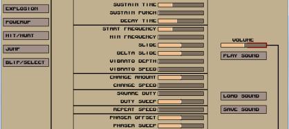 音效軟體工具- sfxr  遊戲製作必備