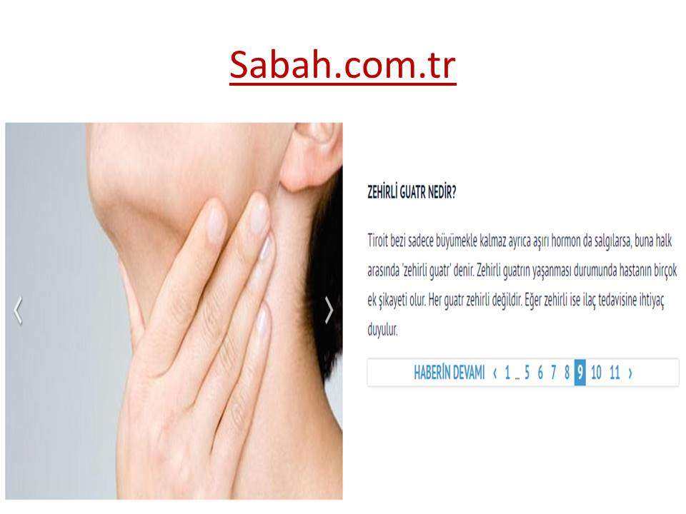 Zehirli Guatr Sabah
