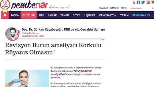 Pembenar Gürkan Kayabaşoğlu Yazısı