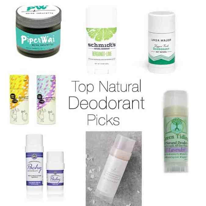 Top Natural Deodorant Picks