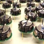 Self Organizing Thousand-Robot Swarm