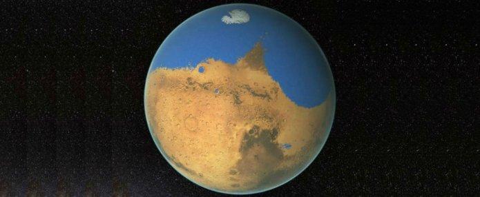 Mars Had An Ocean 4.3 Million Years Ago