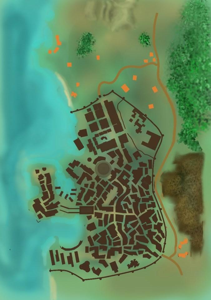 Mapa Vila