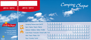Camping Cheque or Camping Travel Club