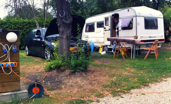 Camping Prague Troja 2012