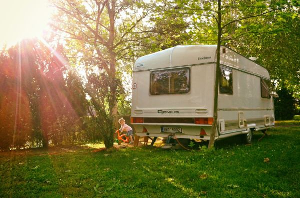Camping with Caravan in Hungary