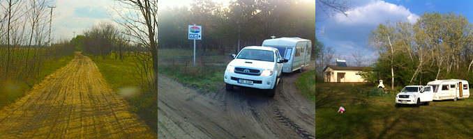 Campsite Oasis Tanya in Hungary