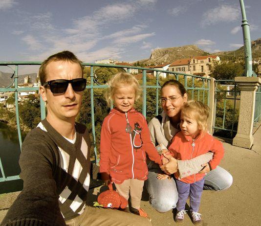 Vita's family in Mostar