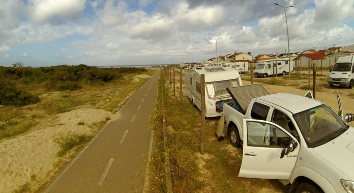 Awesome Stellpltatz for Boondocking in Portugal