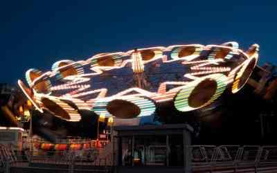 Parque Rodó – beach, kitsch fairground & Sunday drummers
