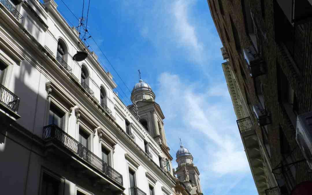 Uruguay in winter - blue skies