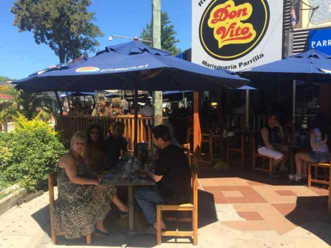 Don Vito restaurant in Atlantida Uruguay beach