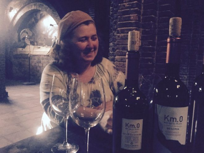 Carmelo - wines of Uruguay, Maria Noel of Irurtia